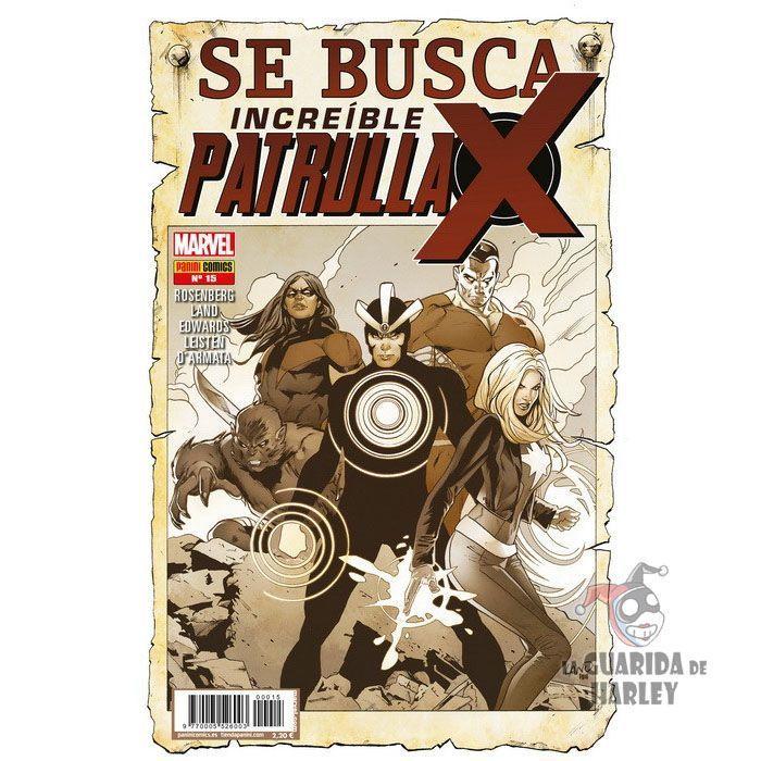 Increíble Patrulla-X   15 Se busca X-MEN INCREÍBLE PATRULLA-X V1   15