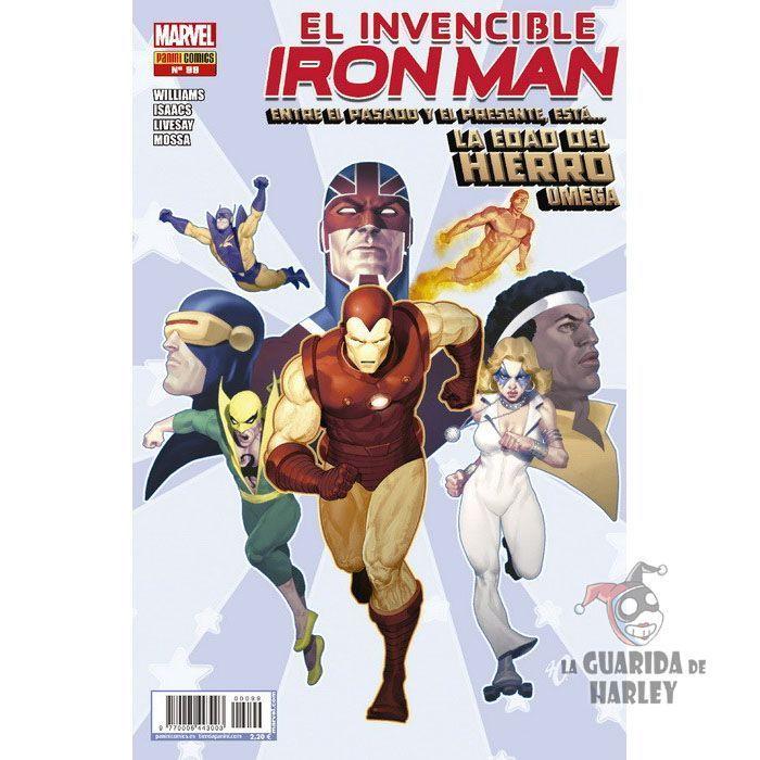El Invencible Iron Man v2   99 La Edad del Hierro Omega