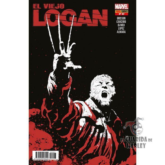 El Viejo Logan 97 X-MEN LOBEZNO V5 97