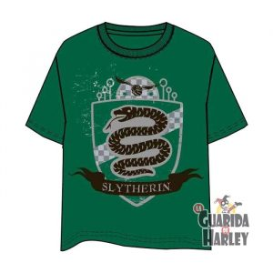 Camiseta Hombre Quidditch harry potter slytherin