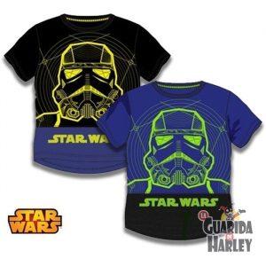 Camiseta infantil Star Wars Storm trooper