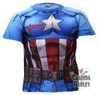 Camiseta Capitán América Infantil