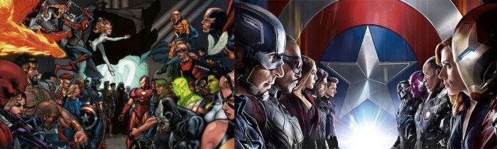 bandos comic pelicula civil war