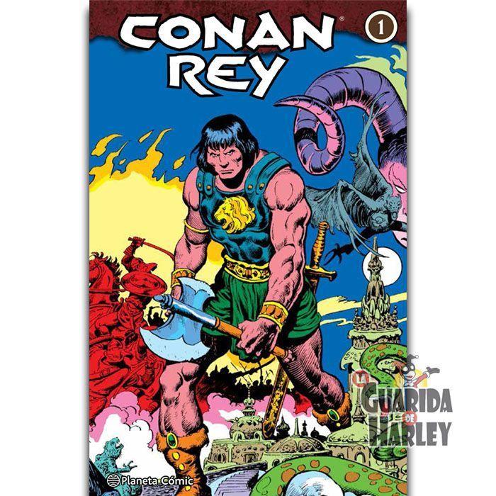 Conan Rey (Integral) nº 01/04 Roy Thomas