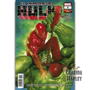 El Inmortal Hulk 6 HÉROES MARVEL EL INCREÍBLE HULK V2 81