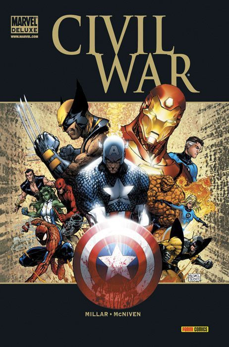 civil war marvel deluxe