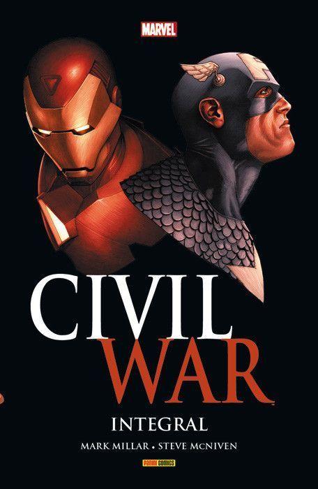 Civil war marvel integral