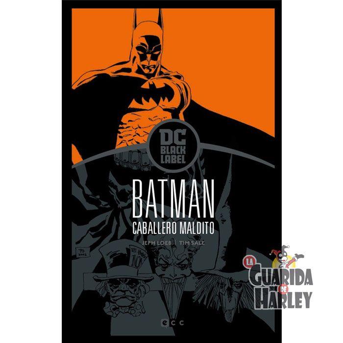 BIBLIOTECA DC BLACK LABEL / BATMAN DE JEPH LOEB Y TIM SALE Batman: Caballero maldito – Edición DC Black Label BATMAN: CABALLERO MALDITO