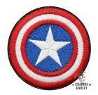 Capitan America Parche Termoadhesivo