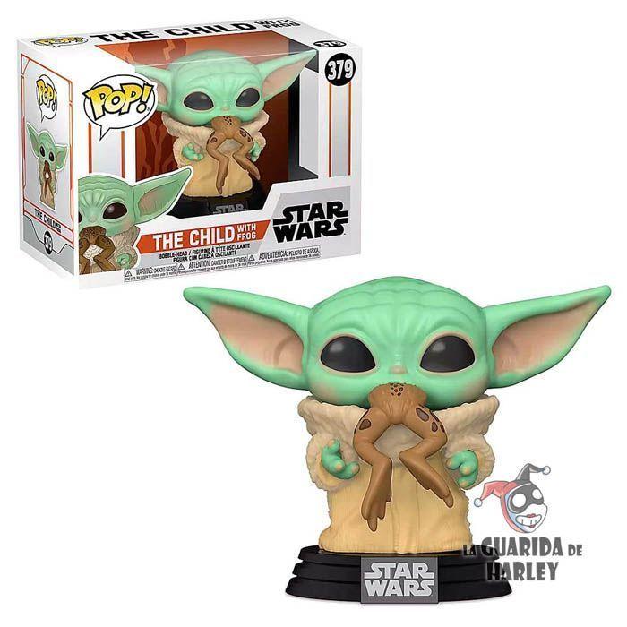 Funko Pop! Baby Yoda con Rana - The Mandalorian 379