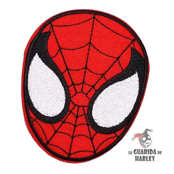 Parche termoadhesivo spiderman