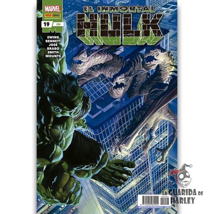 El Inmortal Hulk   19 HÉROES MARVEL EL INCREÍBLE HULK V2   94