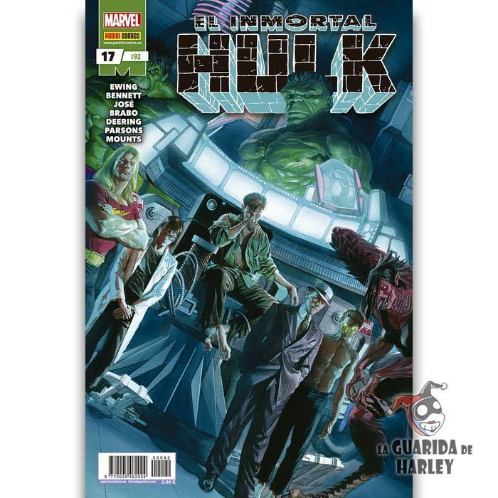 El Inmortal Hulk   17 HÉROES MARVEL EL INCREÍBLE HULK V2   92