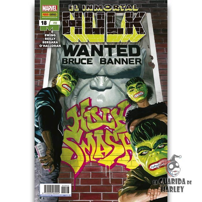 El Inmortal Hulk 18 HÉROES MARVEL EL INCREÍBLE HULK V2 93
