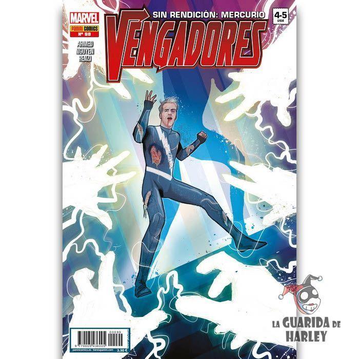 Vengadores 99 Sin Rendición: Mercurio HÉROES MARVEL