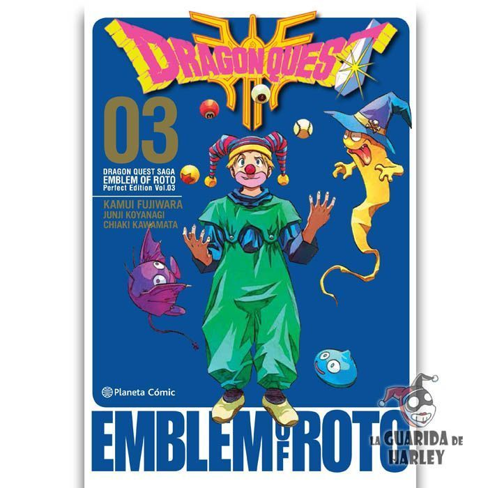 Dragon Quest Emblem Of Roto nº 03/15