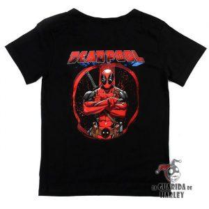 Camiseta Deadpool Masacre marvel comic