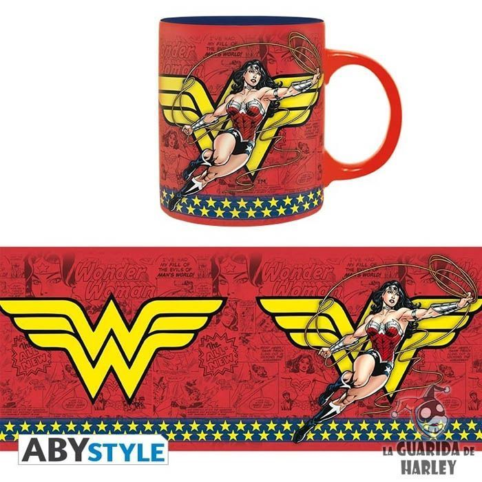 DC Comics Taza Wonder Woman Action 320 ml.