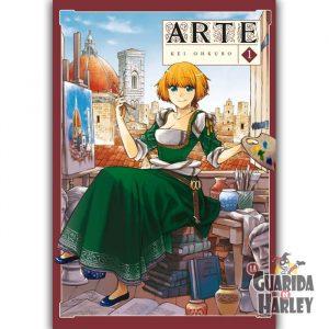 Arte 1 Arechi Manga Kei Ohkubo