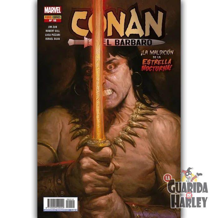 Conan el Bárbaro 10 ¡La maldición de la Estrella Nocturna!