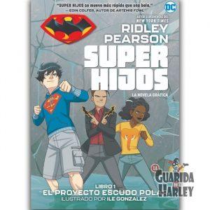 Super hijos: El proyecto Escudo Polar Novela gráfica juvenil de DC Comics