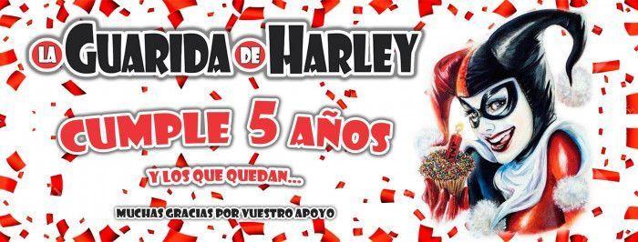 LA GUARIDA DE HARLEY CUMPLE 5 AÑOS