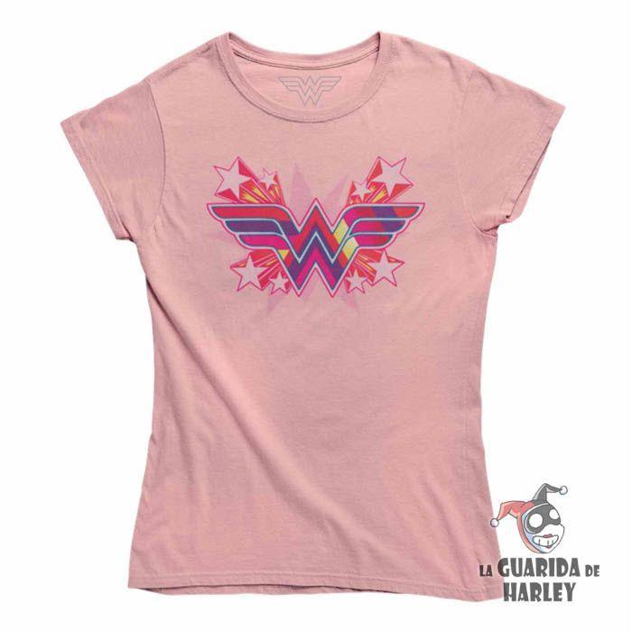Camiseta Mujer Chica Wonder Woman