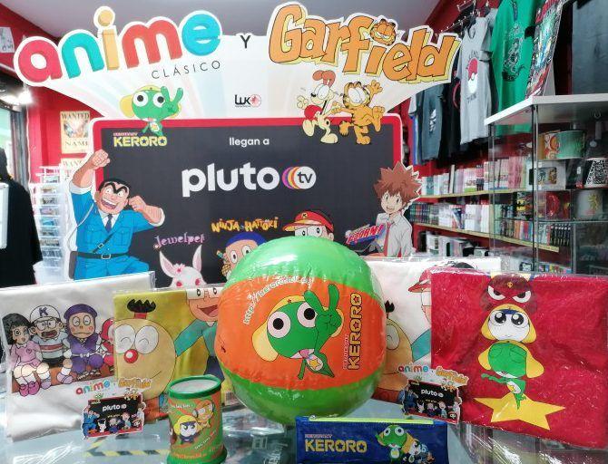 Sorteo Pluto TV Anime clásico