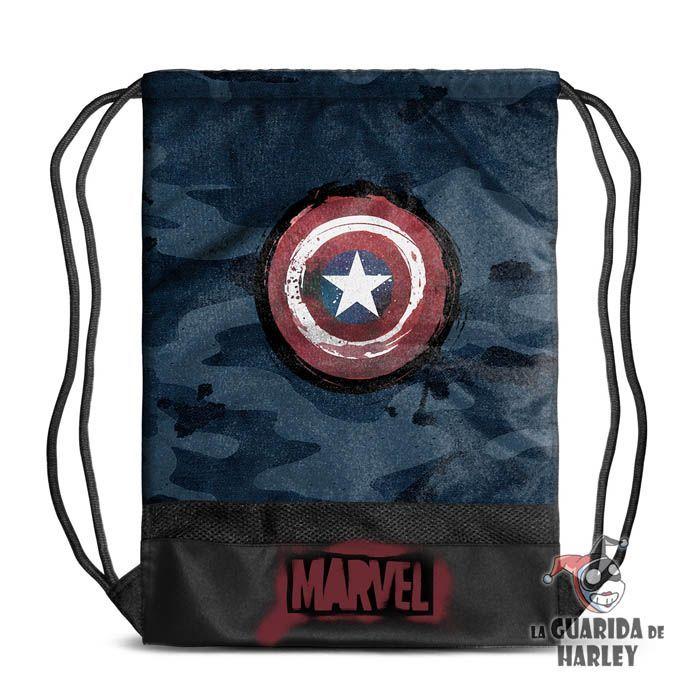 Mochila de cordón tipo saco - Capitán América