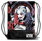 Mochila de Cordón tipo Saco – Harley Quinn Escuadrón Suicida