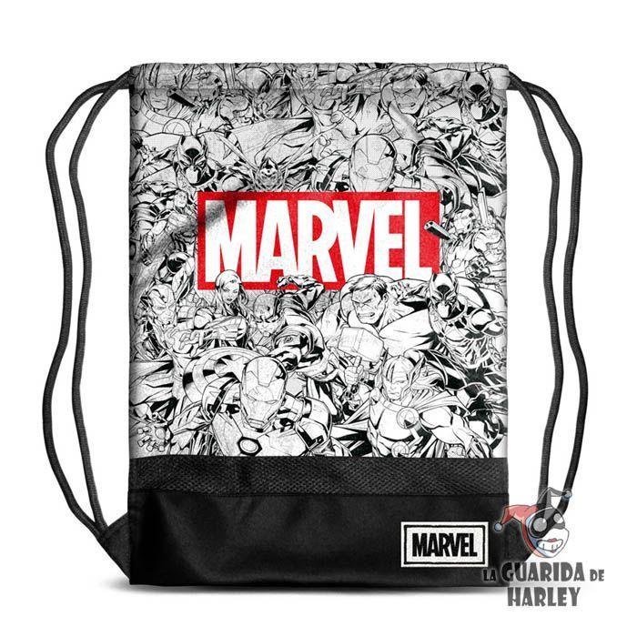 Mochila de cordón tipo saco - Marvel