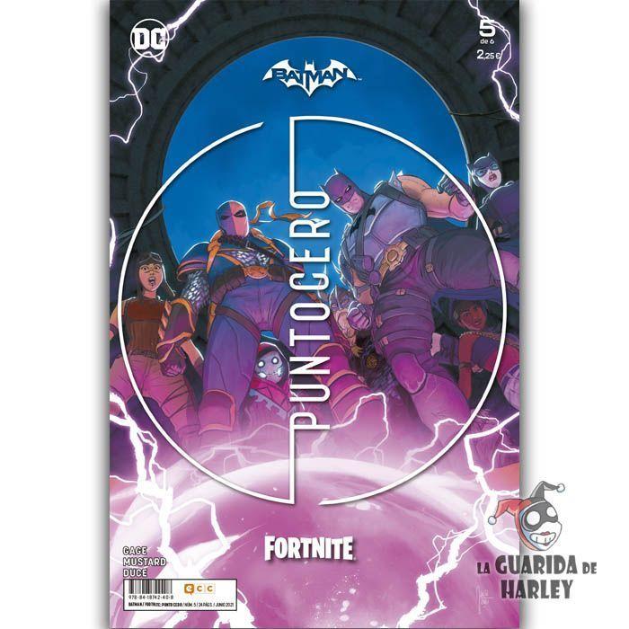 BATMAN/FORTNITE: PUNTO CERO NÚM. 05 DE 6