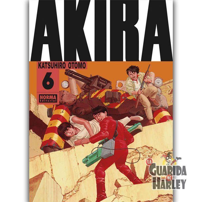 AKIRA EDICIÓN ORIGINAL 6  Katsuhiro Otomo