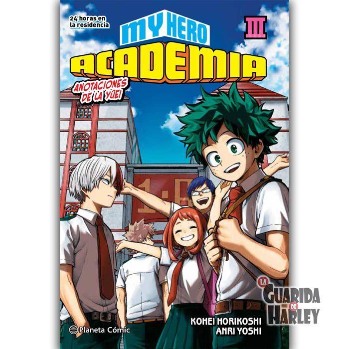 My Hero Academia: Anotaciones de la Yuei NOVELA 3