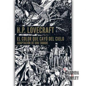 El color que cayó del cielo- Lovecraft Isekai No Shikisai Lovecraft Kessakushu (título original) Adaptación de Gou Tanabe