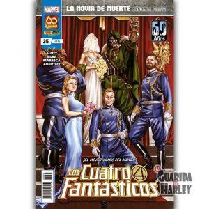 Los Cuatro Fantásticos 35 La novia de Muerte Segunda parte