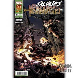 Salvajes Vengadores 21 Panini Marvel